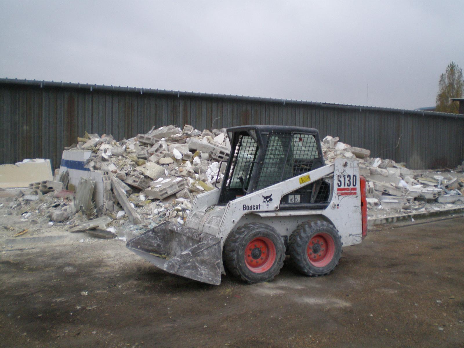 Ramassage des débris